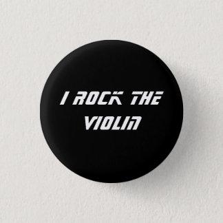 I Rock the Violin Button