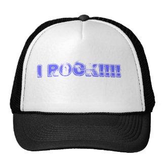 I ROCK!!!! TRUCKER HAT