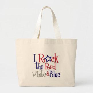 I Rock USA Large Tote Bag