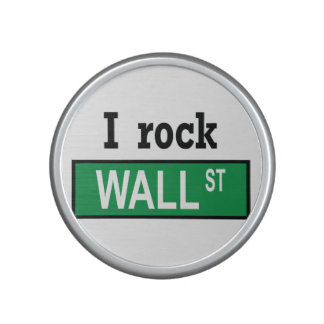 I rock Wall St Bumpster Speaker