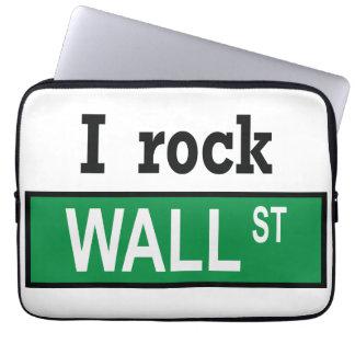 I rock Wall St Neoprene Laptop Sleeve