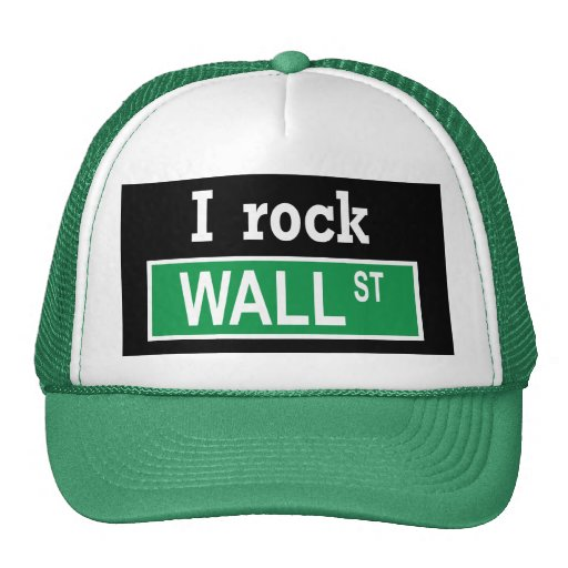 """I rock Wall Street"" Hat"