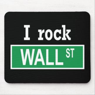"""I rock Wall Street"" Mousepad"