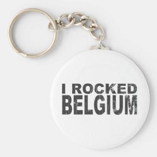 I Rocked Belgium Keychain
