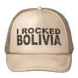 I Rocked Bolivia Trucker Hats