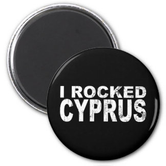 I Rocked Cyprus 2 Inch Round Magnet
