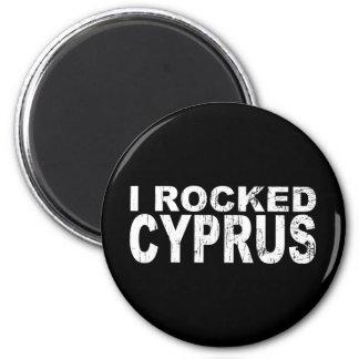 I Rocked Cyprus 2 Inch Round Magnet