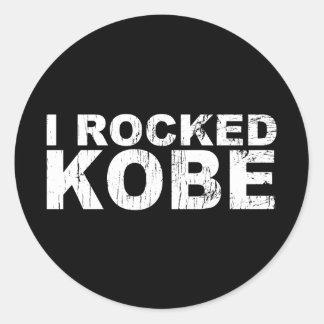 I Rocked Kobe Bk Sticker