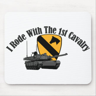 I Rode With The 1st Cav Mouse Pad