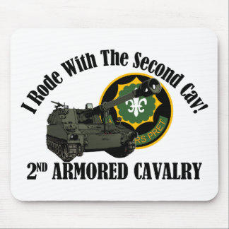 I Rode With The 2nd ACR!  Howitzer Mouse Pad