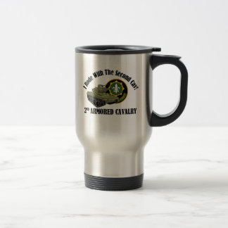 I Rode With The 2nd Cav! - 2nd ACR M551 Stainless Steel Travel Mug