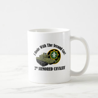 I Rode With The 2nd Cav! - 2nd ACR M551 Basic White Mug