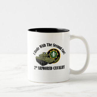 I Rode With The 2nd Cav! - 2nd ACR M551 Two-Tone Mug