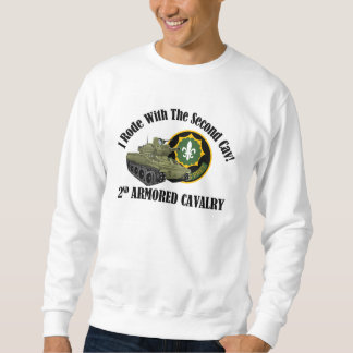 I Rode With The 2nd Cav! - 2nd ACR M551 Sweatshirt