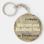 I role play..... in Deadwood Key Chains