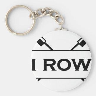 I Row keychain