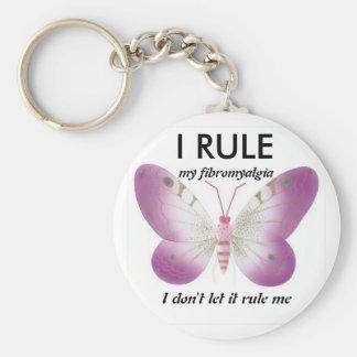 I rule my fibromyalgia: key chain