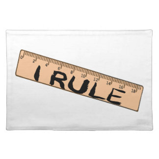 I Rule Ruler Placemat