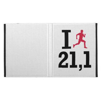 I run 21,1 kilometers iPad cases