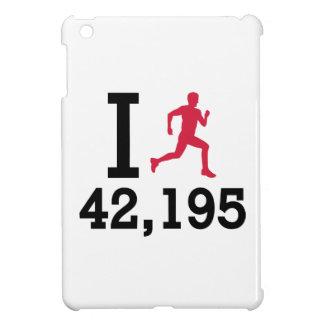 I run 42,195 kilometers marathon case for the iPad mini