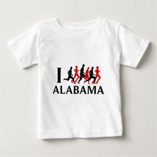 I RUN ALABAMA BABY T-Shirt