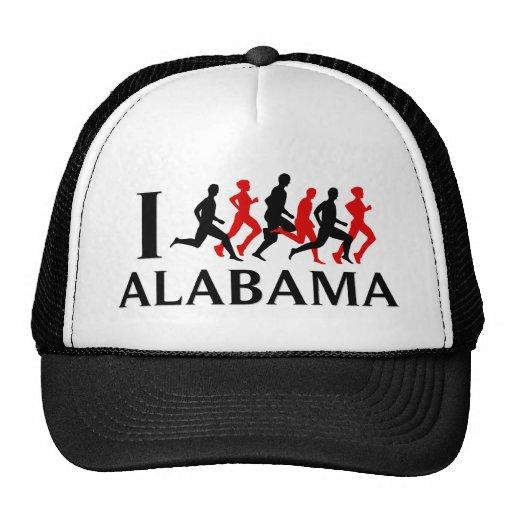 I RUN ALABAMA TRUCKER HAT