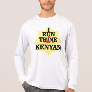 I Run and Think Like a Kenyan T-Shirt