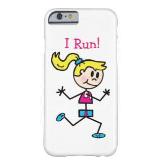 I Run! Barely There iPhone 6 Case