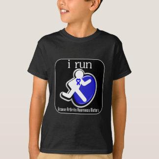 i Run Because Arthritis Awareness Matters T-Shirt