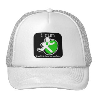 i Run Because Bile Duct Cancer Matters Trucker Hats