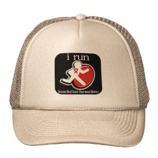 i Run Because Blood Cancer Matters Trucker Hat