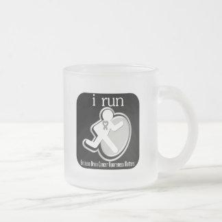 i Run Because Brain Cancer Matters Mugs