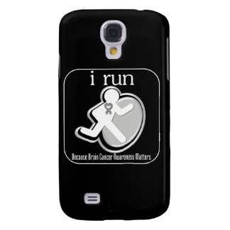 i Run Because Brain Cancer Mers Galaxy S4 Cases