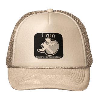 i Run Because Brain Tumor Matters Trucker Hat