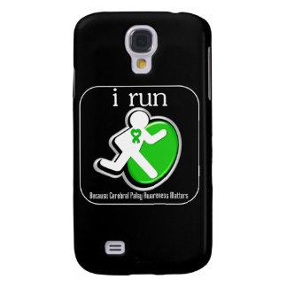 i Run Because Cerebral Palsy Awareness Mers Samsung Galaxy S4 Cover