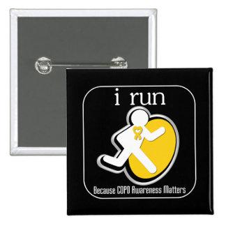 i Run Because COPD Awareness Matters Button