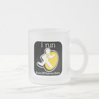 i Run Because COPD Awareness Matters Mugs