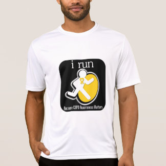 i Run Because COPD Awareness Matters T-shirts