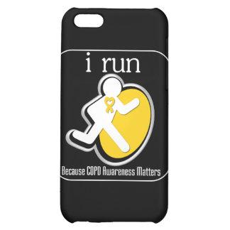 i Run Because COPD Awareness Mers iPhone 5C Case