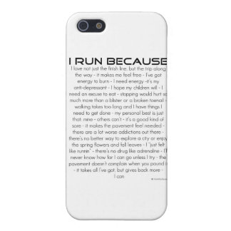 I Run Because Cover For iPhone SE/5/5s