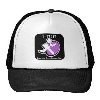 i Run Because Crohns Disease Matters Hats