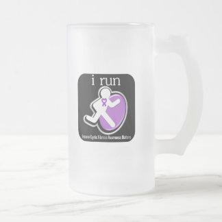 i Run Because Cystic Fibrosis Matters Coffee Mug