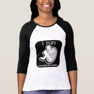 i Run Because Diabetes Matters T-shirt