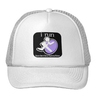 i Run Because General Cancer Matters Trucker Hat