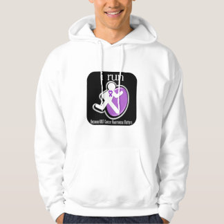 i Run Because GIST Cancer Matters Hooded Pullover