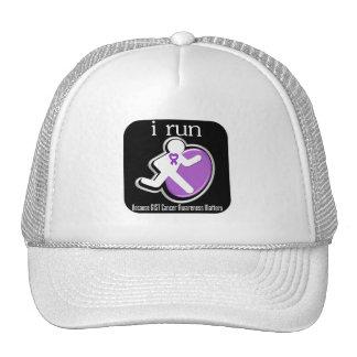 i Run Because GIST Cancer Matters Trucker Hat