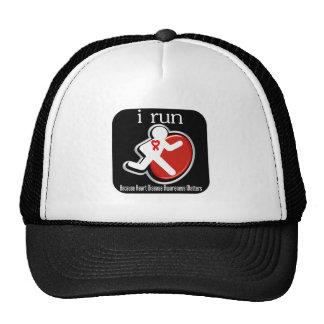 i Run Because Heart Disease Matters Trucker Hat