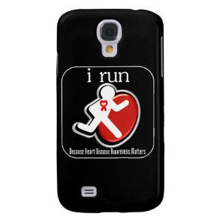 i Run Because Heart Disease Mers Samsung Galaxy S4 Case
