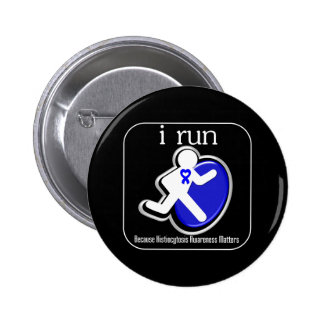 i Run Because Histiocytosis Matters Buttons