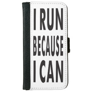I Run Because I Can iPhone 6/6s Wallet Case